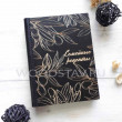 Книга рецептов из дерева и кожи Оливки